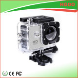 Mini câmera impermeável colorida 1080P do esporte para ao ar livre