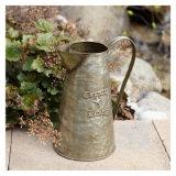 Antikes rundes Zinn-Metallwasser kann Bewässerungs-Dosen-Zinn-Wasser-Krug
