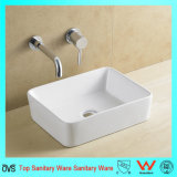 Ovs Best Selling Square Art Ceramic Lavabo