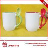 ロゴの印刷を用いる陶磁器のコーヒー・マグの広告