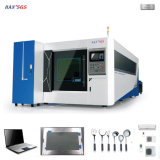 Cer unterstützte 500W 1000W 1500W CNC-Faser-Laser-Ausschnitt-Maschine