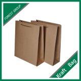Gedruckter Packpapier-Beutel mit Papiergriffen