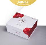 Weißes Leder-Kasten-Kosmetik-Kasten