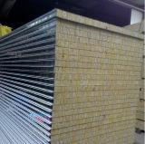 Panneaux de toit et de mur de sandwich à Fireroof Rockwool de fournisseur de la Chine