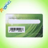 Ponto do cartão do PVC Cr80 com UV, número de Uid