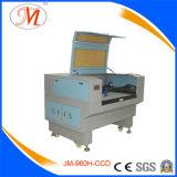 Macchina del laser Cutting&Engraving per il taglio tessuto del contrassegno (JM-960H-CCD)