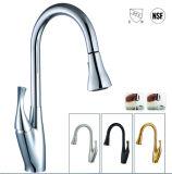 Taraud sans plomb de robinet de cuisine de nickel de certificat noir de Cupc (F01A-ORB1)