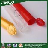 tubi vuoti di uso farmaceutico unito di plastica del tubo di 10ml 120mm pp con la bottiglia sottile lunga della protezione della parte superiore di vibrazione per i tubi della parte superiore di schiocco delle pillole