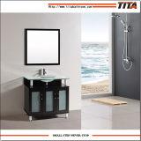 Het aangemaakte Kabinet T9148-24e van de Badkamers van het Glas Hoogste