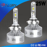 25W高い発電LEDのヘッドライト9006 4WD