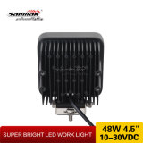 """ Indicatore luminoso dell'automobile del LED IP68 48W quadrato impermeabile 4"