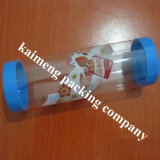 Vente en gros Tubes Clear PP Plastic Cylinder Packaging with Printing