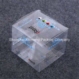 Rectángulo de empaquetado plegable fuente del animal doméstico plástico de China para la decoración del regalo