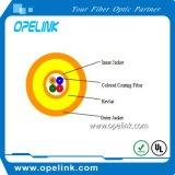 Quatre câble fibre optique miniature du faisceau LC_LC