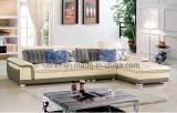 Sofá de cuero moderno de la sala de estar de la buena calidad del precio de fábrica (HX-F626)
