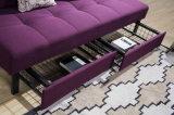 Base dobrada do sofá da sala de visitas da série dois de Bossica (com armazenamento)
