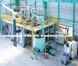 완전히 자동적인 검정 낭비 엔진 기름 또는 차 기름 또는 모터 오일 증류법 경신 플랜트 (EOS)