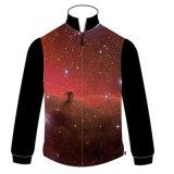 Куртка 100% полиэфира с картиной Nebula