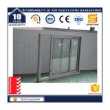 Prix en aluminium intérieur vertical en verre à l'épreuve des balles Philippines de guichet de glissement