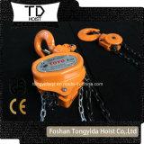 Hijstoestel van de Ketting van Toyo het Hand met Ce- Certificaat