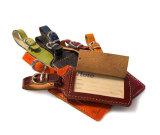 Бирка багажа печатание PU прочного перемещения кожаный