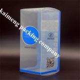 Nukのびん(プラスチック製品)のためのパッケージを折る最上質の中国によって曇らされるPVCプラスチック製品