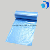 Impression faite sur commande en plastique de sacs plats de perte claire de couleur sur le roulis