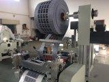 Película difusa, protegendo a película e refletindo a máquina cortando da película