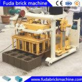 移動可能なHydroformの具体的な空の標準煉瓦ブロックの成形機