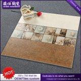 Foshan горячее продавая 250× 750 плитка стены плитки Inkjet строительного материала 3D керамическая