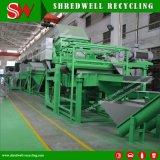 Neumático de la máquina de reciclaje para el reciclaje de neumáticos entero con productos finales de goma de miga