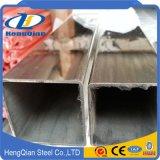 ASTM 304 Decoratieve Heldere Pijp 201 beëindigt de Pijp van het Roestvrij staal