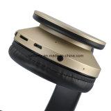 Bruit stéréo sans fil d'écouteur de Bluetooth annulant l'écouteur avec MIC, carte de FT de support, radio fm