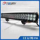 12/24V 126W二重列LED車のライトバー20インチの4X4