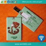 carte de visite professionnelle de visite faite sur commande du lecteur flash USB d'ABS de l'impression 8g pour des cadeaux