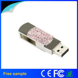 Chine Fournisseur Cadeau promotionnel Crystal Metal USB Pen Drive 4 Go 8 Go
