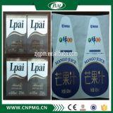 Etiqueta de la etiqueta de BOPP para las botellas redondas