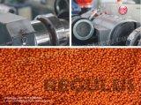 Хлопья бутылки HDPE рециркулируя производственную линию Pelletizing/используемую машину лепешки
