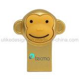 Movimentação do flash do USB do estilo do macaco do ouro (UL-M019)