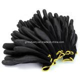 12 paires d'unité centrale de sûreté d'enduit de gant en nylon de travail