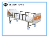 (A-109) Cama de hospital manual Double-Function movible con la pista de la base del ABS