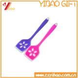 Pala multicolora de encargo de los utensilios de cocina del silicón de la categoría alimenticia