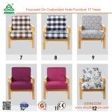 편리한 단 하나 소파 의자, 건장한 목제 프레임 단 하나 Seater 소파 의자