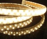 1800-7000kは白い二重列5050 LEDのリボンを暖める