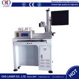 Machine de gravure rotatoire de borne de laser de fibre pour l'ampoule de DEL