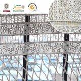 Il tessuto floreale splendido del merletto di Polyster della fusione, il più nuovo disegno e designano 2017 E20019