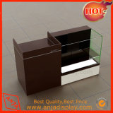 Стол кассира мебели встречного стола магазина деревянный