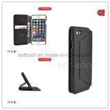 Cassa di cuoio del telefono di modo con il basamento di Wallet+Phone per vari telefoni