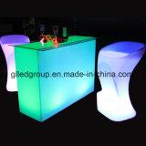 meubles modernes en plastique de compteur droit de barre de 16colors DEL à vendre