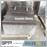 Prix impériaux d'escaliers de granit de semelle de granit de Brown de café Polished